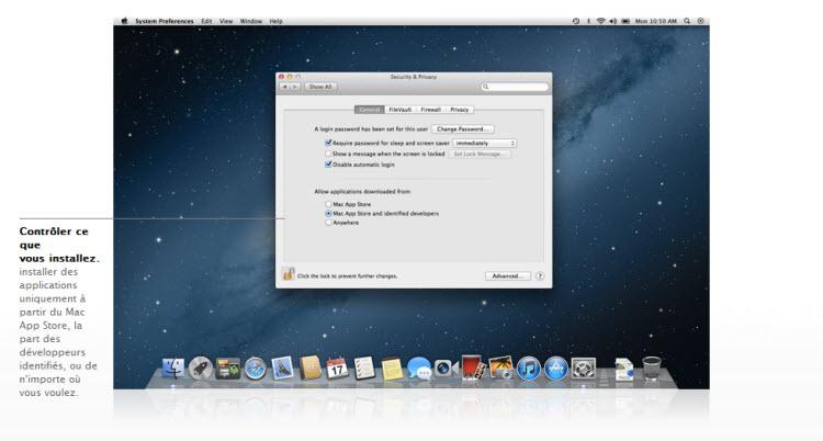 Os x mountain lion remplacera cet t mac os x lion for Application miroir ordinateur