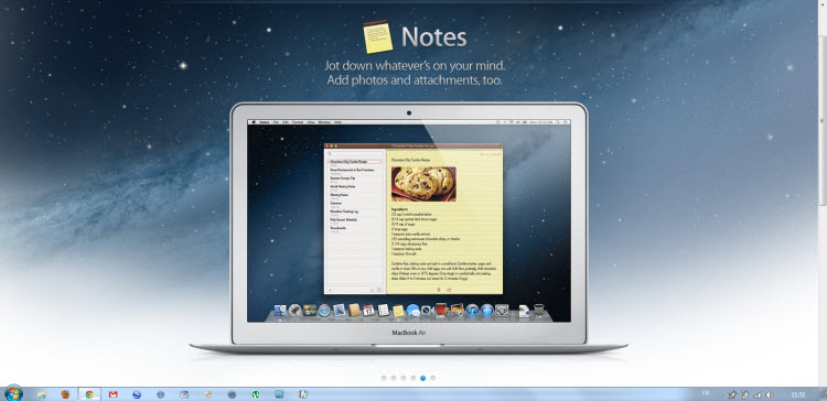 Notes OS X Mountain Lion 2