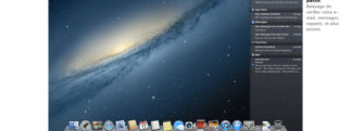 Notification Center OS X Mountain Lion
