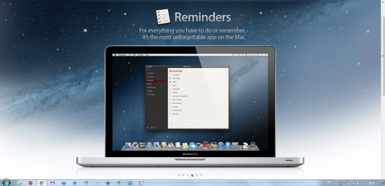 Rappels OS X Mountain Lion 2