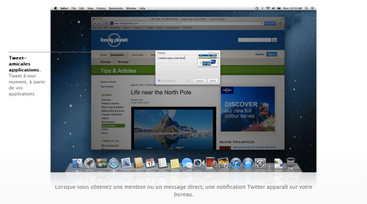 Twitter OS X Mountain Lion