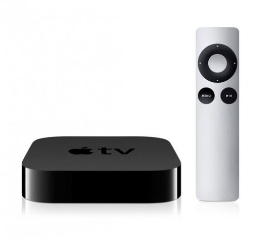 Apple tv et télécommande