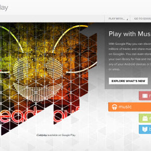 Google Play, le iTunes Store de Google