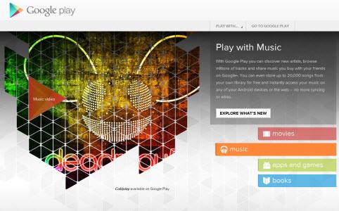 Google Play, le iTunes Store de Google