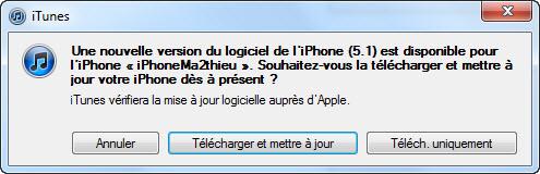 Apple rend disponible iOS 5.1 pour iPhone, iPad et iPod Touch