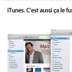 iTunes 10.6 est disponible