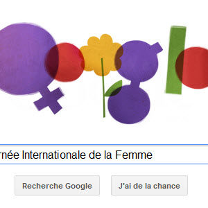Google fête la Journée Internationale de la Femme