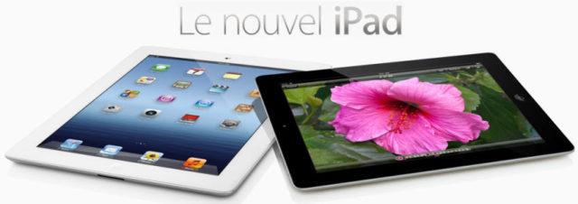 #iPad3 : les délais s'allongent pour les commandes en ligne mais pas en boutique