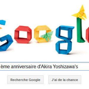 Google fête le 101ème anniversaire d'Akira Yoshizawa's
