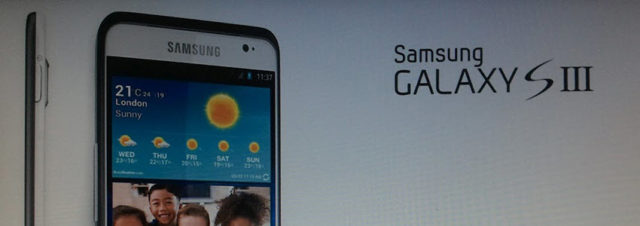 Le Samsung Galaxy S3 sera disponible en avril