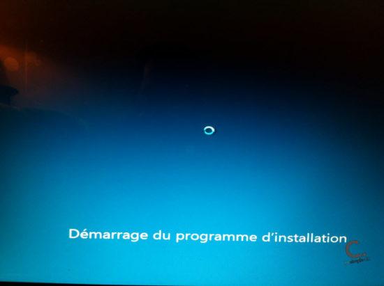 Windows 8 étape 3