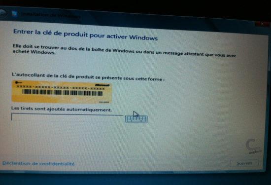 Windows 8 étape 4