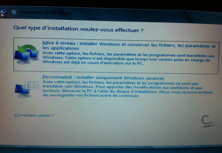 Windows 8 étape 7