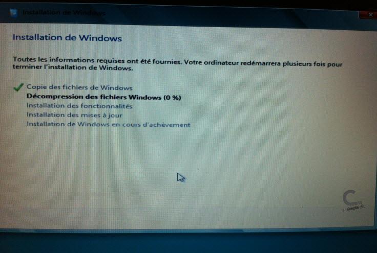 Windows 8 étape 9