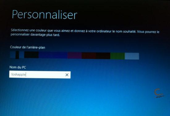 Windows 8 Personnaliser