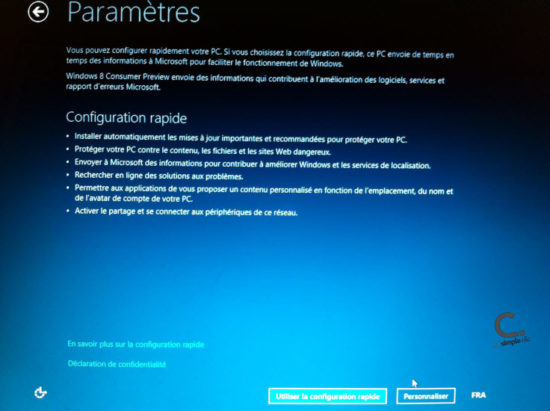 Windows 8 réseau wifi 2