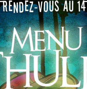 """Menu Cthulhu, le nouveau """"livre dont vous êtes le héros"""" signé Walrus"""
