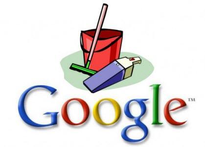 Nettoyage de printemps 2012 chez Google