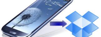 Dropbox s'associe à Samsung pour le Galaxy S3 en offrant 50Go !