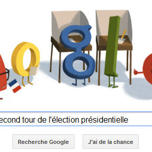 Google salue le Second tour de l'élection présidentielle