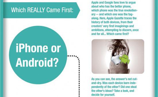 Android Phone ou iPhone, lequel a été imaginé et est arrivé en 1er ?