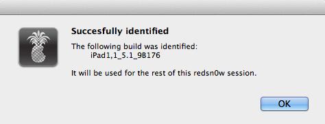redsn0w jailbreak iOS 5.1.1 - 3