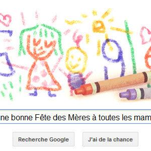 Google souhaite une bonne Fête des Mères à toutes les mamans