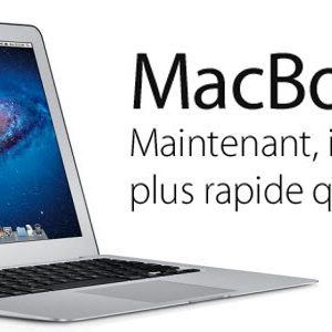 Les MacBook Air version 2012