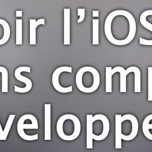 Pas à Pas : Installer l'iOS 6 bêta 1 sans compte développeur