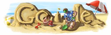 Doodle Google Fête des Pères 2009