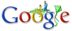 Doodle Google Fête des Pères 2008