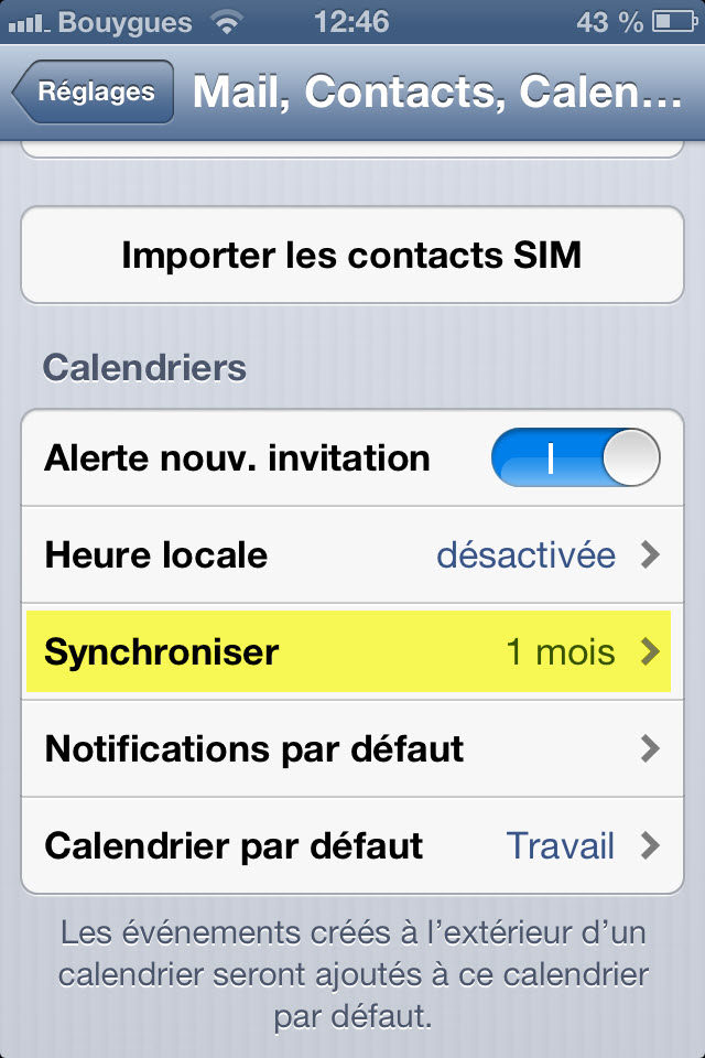 Synchronisation Calendrier Outlook.Comment Synchroniser Votre Agenda Entre Votre Iphone Google