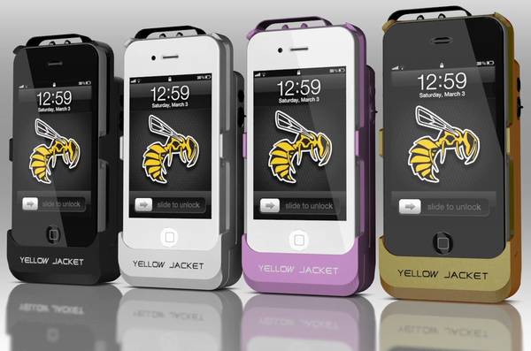 Yellow Jacket - Transformez votre iPhone en taser!