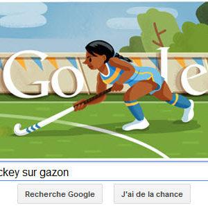 #Londres2012 - Google met à l'honneur le Hochey sur gazon