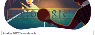 #Londres2012 – Google met à l'honneur le Tennis de table