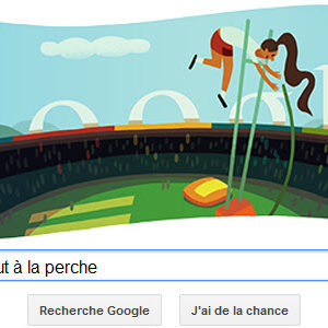#Londres2012 - Google mat à l'honneur le Saut à la perche