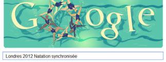 #Londres2012 – Google met à l'honneur la Natation synchronisée