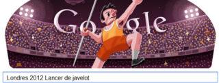 #Londres2012 – Google met à l'honneur le Lancer de javelot