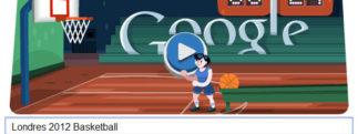 #Londres2012 – Google met à l'honneur le Basketball
