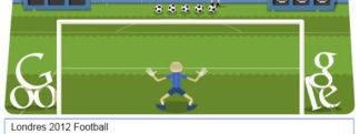 #Londres2012 – Google met à l'honneur le Football avec un Doodle «mini-jeu»