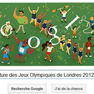 #Londres2012 - Google met à l'honneur la Cérémonie de clôture des Jeux Olympiques de Londres 2012