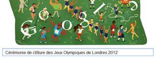 #Londres2012 – Google met à l'honneur la Cérémonie de clôture des Jeux Olympiques de Londres 2012