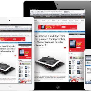"""L'iPad mini, un iPad qui ressemblerait un iPod Touch de 7.85"""" pour octobre 2012?"""
