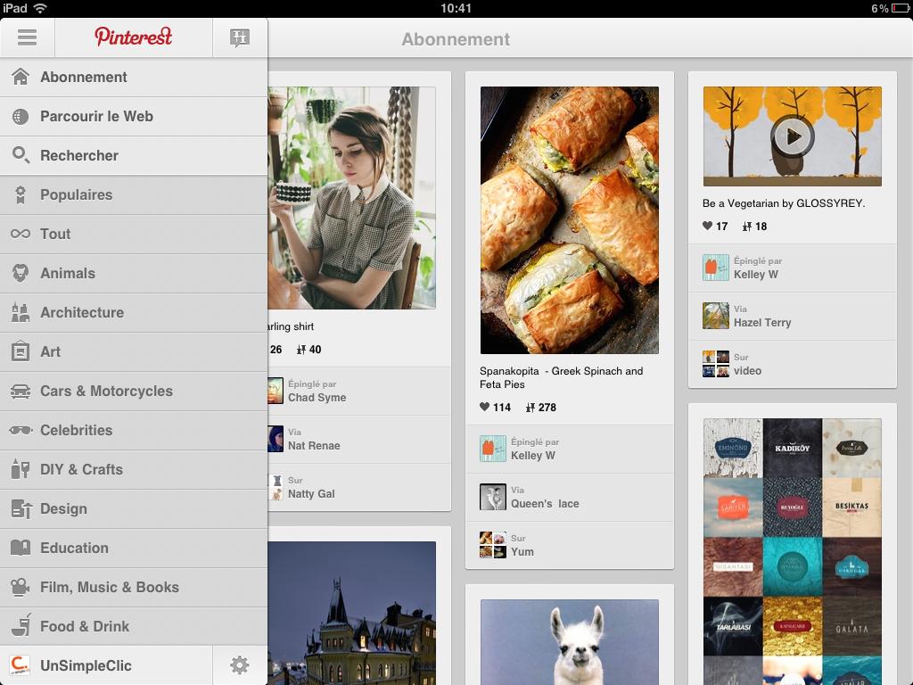 Pinterest est ouvert à tous et se dote d'une application Android et d'une mise à jour iOS compatible iPad