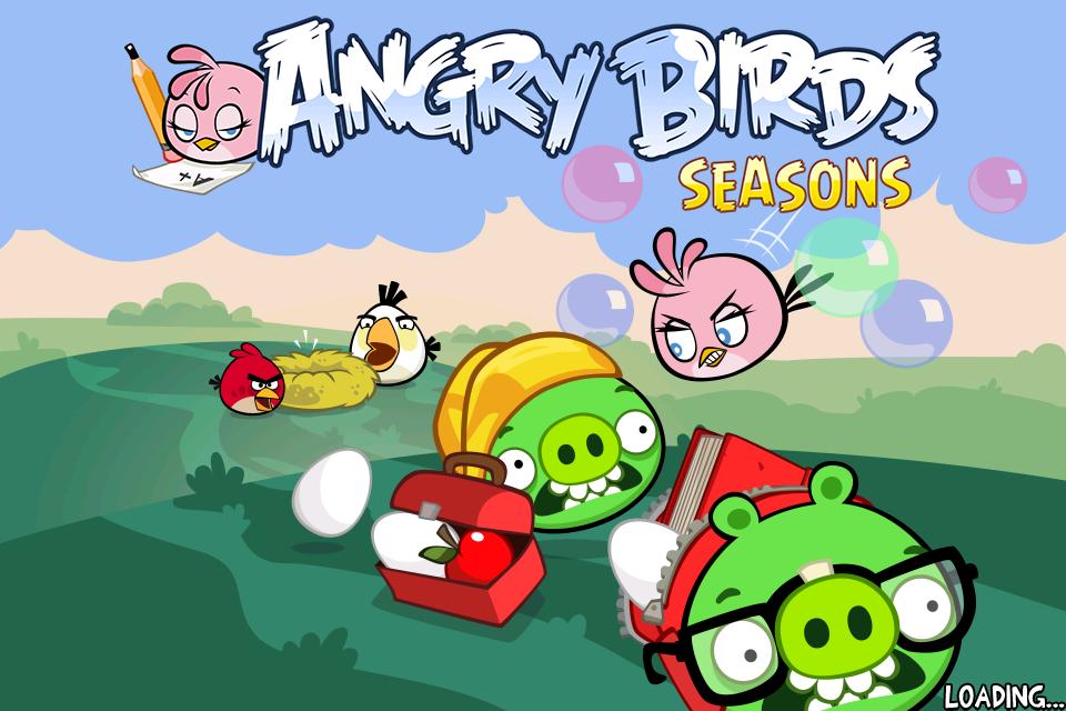 Angry Birds Seasons se met à jour pour accueillir Pink Bird, le nouvel oiseau de Back To School