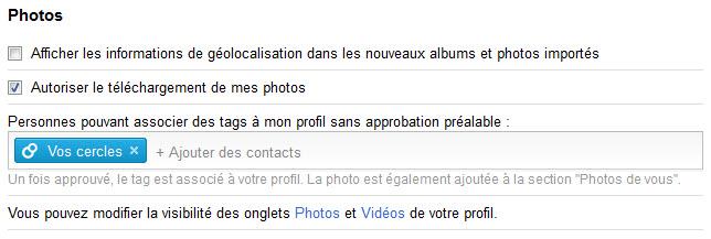 Google+ : arrivée des diaporamas et du téléchargement des albums pour vos photos