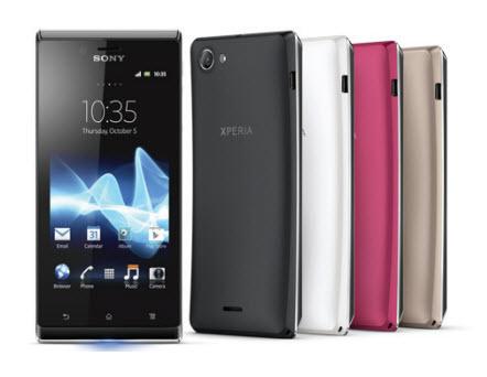 #IFA2012 - Sony présente les Xperia T, Xperia V et Xperia J