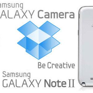 Dropbox s'associe de nouveau à Samsung en offrant 50Go pour le Galaxy Note 2 et le Galaxy Camera