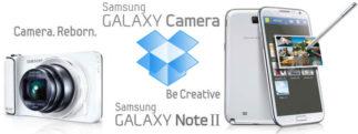 #IFA2012 – Dropbox s'associe de nouveau à Samsung en offrant 50Go pour le Galaxy Note 2 et le Galaxy Camera