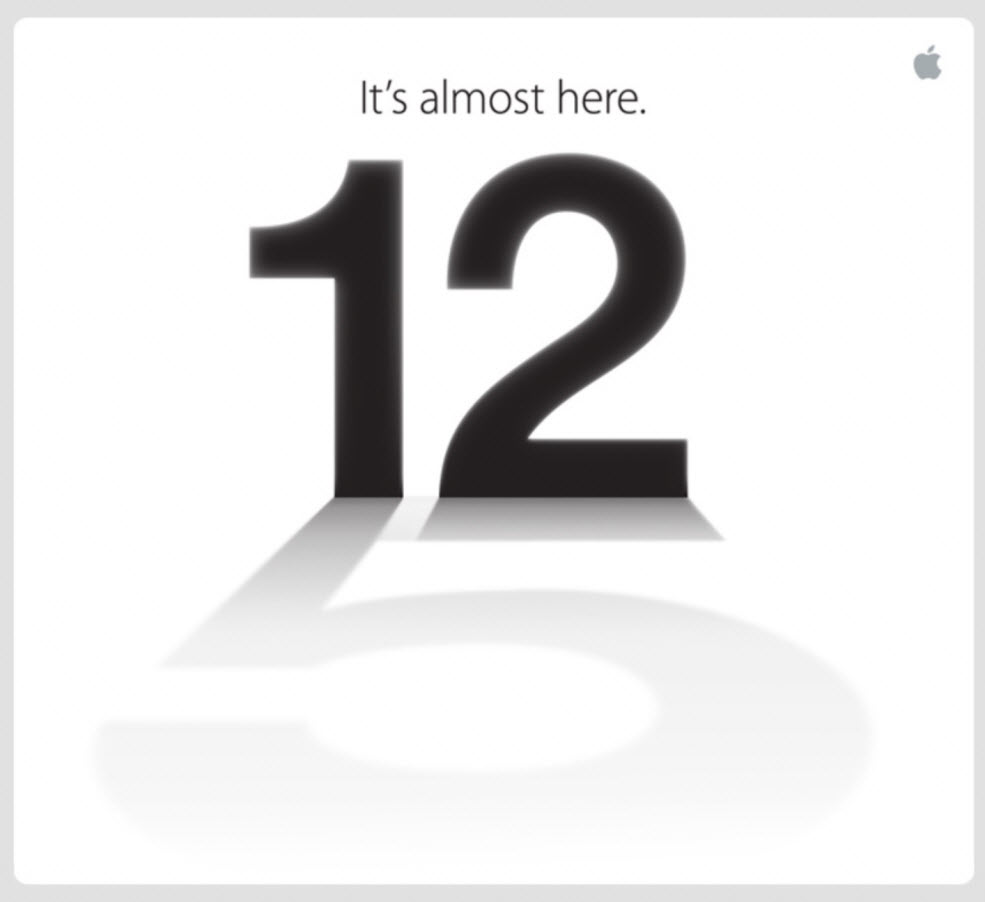 #iPhone5 - Keynote Apple du 12 septembre 2012 enfin officielle!